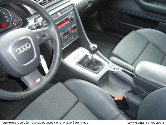 audi a4 s line tdi 140cv 2005 occasion auto audi a4. Black Bedroom Furniture Sets. Home Design Ideas