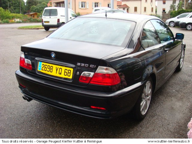 bmw 330 ci 2001 occasion auto bmw 330. Black Bedroom Furniture Sets. Home Design Ideas
