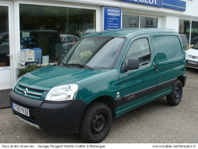 CITROEN BERLINGO 1.9D 600KG 2004 - Voiture d'occasion