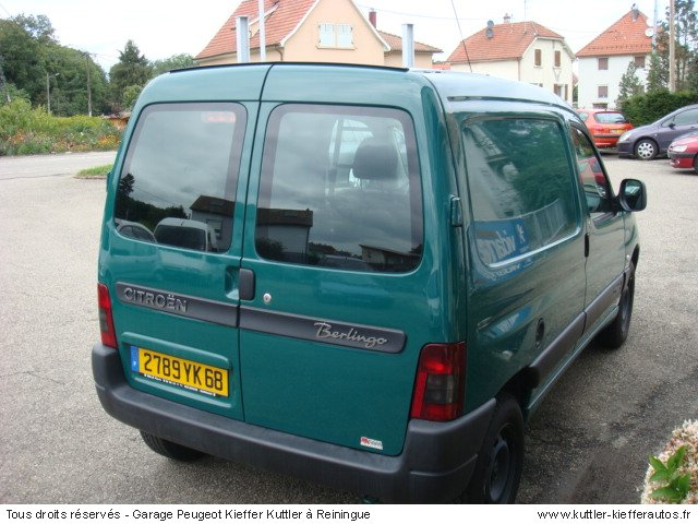 citroen berlingo 1 9d 600kg 2004 occasion auto citroen berlingo. Black Bedroom Furniture Sets. Home Design Ideas