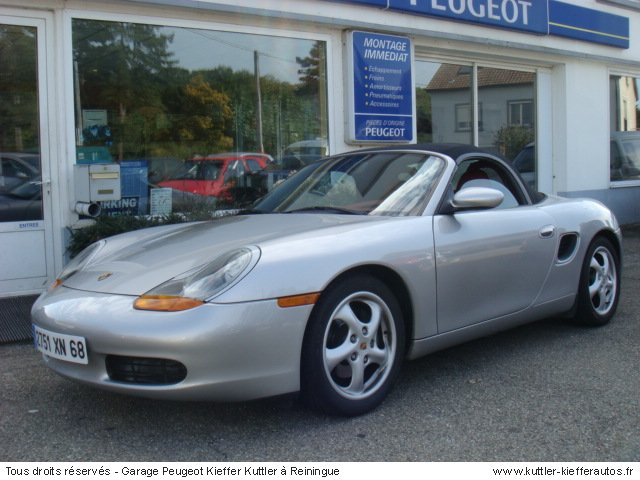 porsche boxster 2 5 tiptro 1997 occasion auto porsche. Black Bedroom Furniture Sets. Home Design Ideas