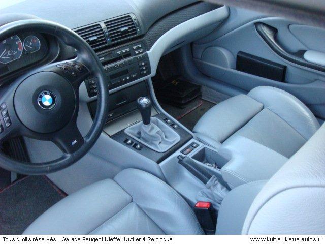 BMW 330 CI PACK M2 (BLEU ) 2002 - Voiture d'occasion