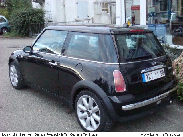 mini cooper 115cv 2002 occasion auto mini cooper. Black Bedroom Furniture Sets. Home Design Ideas