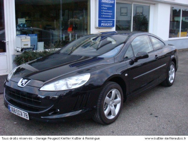 peugeot 407 coupe 2 2 sport 2007 occasion auto peugeot 407. Black Bedroom Furniture Sets. Home Design Ideas