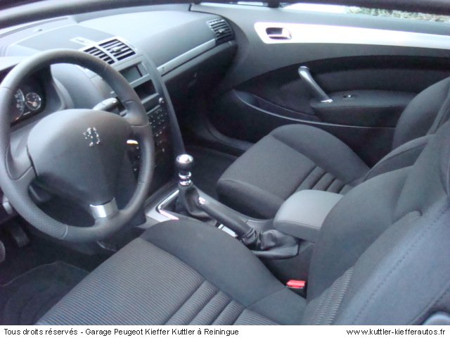 PEUGEOT 407 COUPE 2.2 SPORT 2007 - Voiture d'occasion