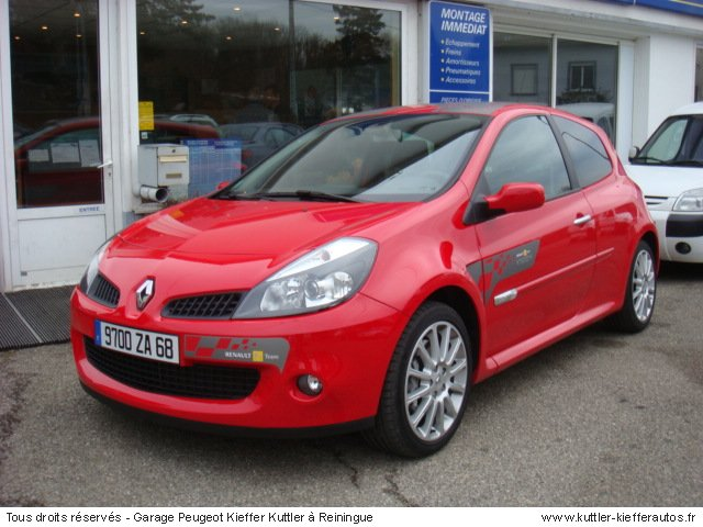 renault clio rs 200cv 2006 occasion auto renault clio. Black Bedroom Furniture Sets. Home Design Ideas