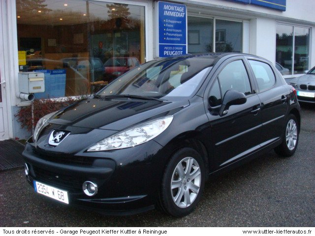 peugeot 207 hdi 110cv sport 2006 occasion auto peugeot 207. Black Bedroom Furniture Sets. Home Design Ideas