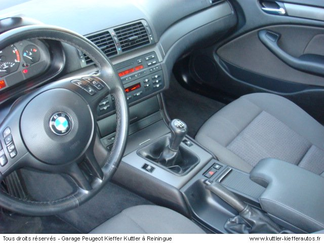 BMW 320 D PACK BV6 150CV 2003 - Voiture d'occasion