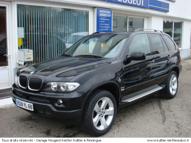 bmw x5 3l d pack sport bva 2004 occasion auto bmw x5. Black Bedroom Furniture Sets. Home Design Ideas
