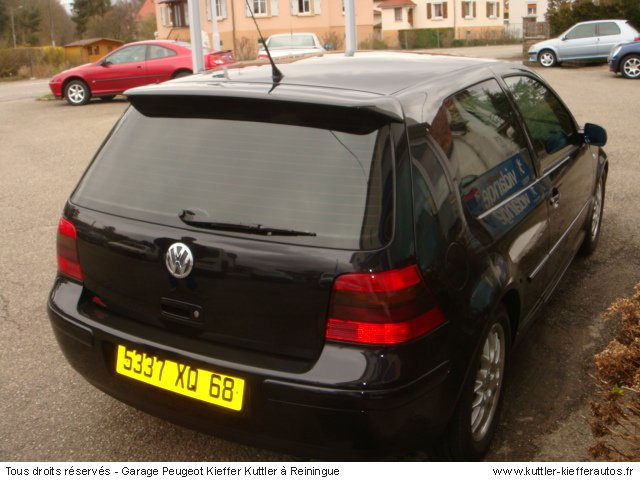 volkswagen golf 4 tdi 150cv 2001 occasion auto. Black Bedroom Furniture Sets. Home Design Ideas