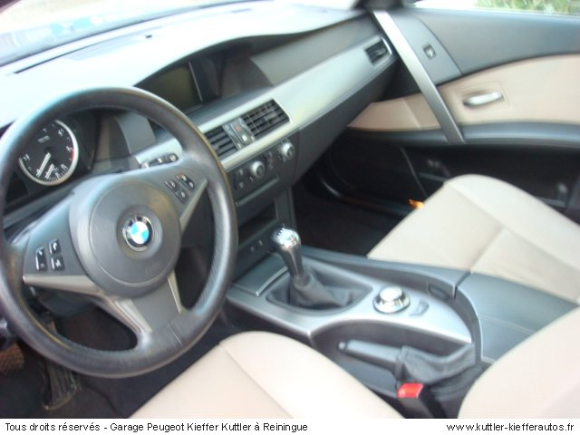 BMW 525 D PACK LUXE 2004 - Voiture d'occasion