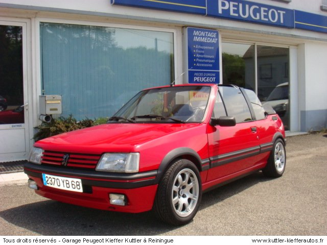 peugeot 205 cti cabriolet occasion. Black Bedroom Furniture Sets. Home Design Ideas