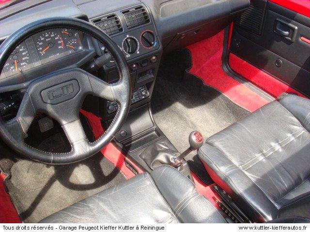 PEUGEOT 205 GTI CTI 1992 - Voiture d'occasion