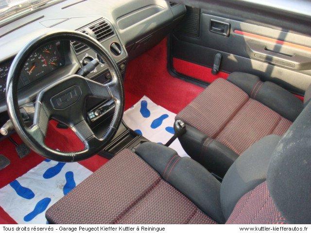 PEUGEOT 205 GTI CTI 1.9 L 105CV 1992 - Voiture d'occasion