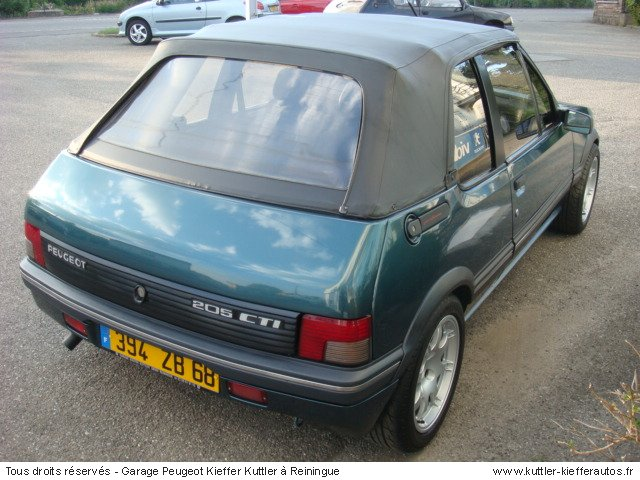 peugeot 205 cti cabriolet occasion peugeot 205 cabriolet peugeot 205 cti a vendre bruxelles. Black Bedroom Furniture Sets. Home Design Ideas
