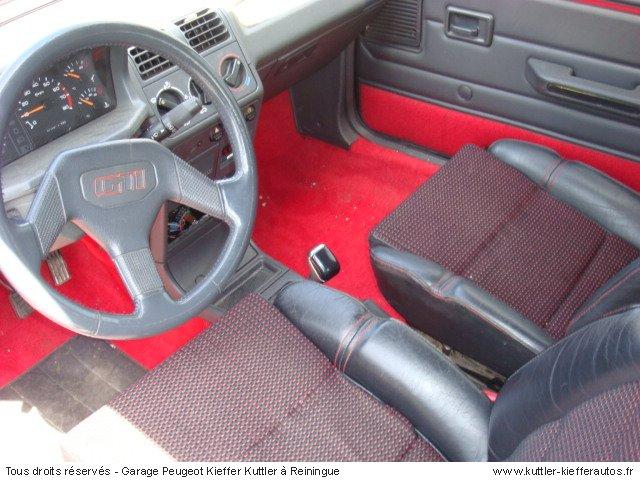 PEUGEOT 205 GTI 1,9L 130CV 1990 - Voiture d'occasion