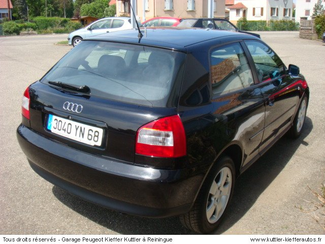 audi a3 tdi 110cv 2000 occasion auto audi a3. Black Bedroom Furniture Sets. Home Design Ideas