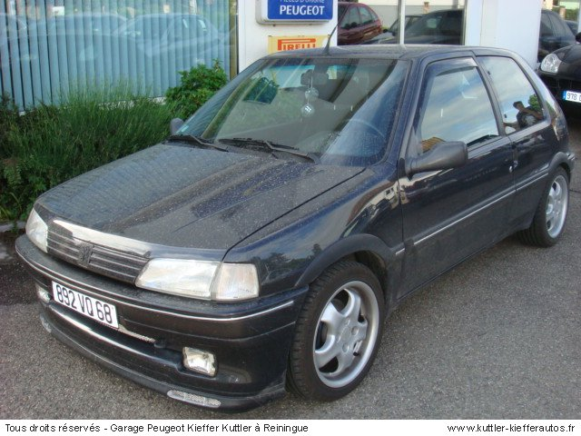 PEUGEOT 106 XSI 1993 - Voiture d'occasion