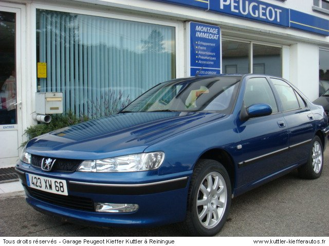 PEUGEOT 406 2.2 L PACK SPORT ESSENCE 2002 - Voiture d'occasion