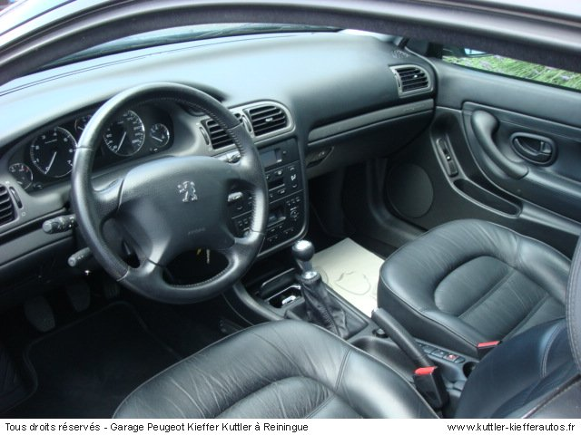PEUGEOT 406 COUPE V6 PACK 2001 - Voiture d'occasion
