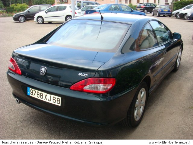 peugeot 406 coupe v6 pack 2001 occasion auto peugeot 406. Black Bedroom Furniture Sets. Home Design Ideas