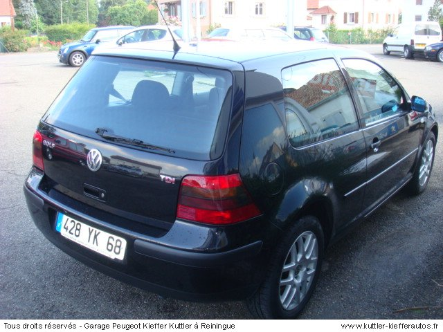 volkswagen golf 4 tdi 115cv bv6 2000 occasion auto. Black Bedroom Furniture Sets. Home Design Ideas