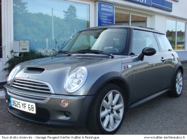 mini cooper s 2004 occasion auto mini cooper. Black Bedroom Furniture Sets. Home Design Ideas