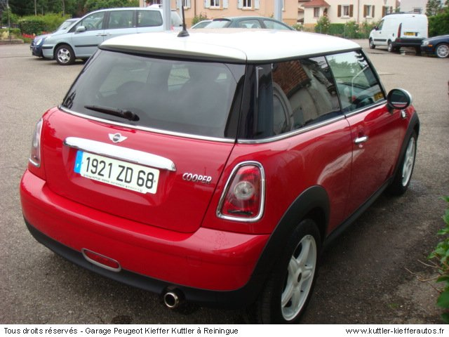 mini cooper 120cv 2007 occasion auto mini cooper. Black Bedroom Furniture Sets. Home Design Ideas
