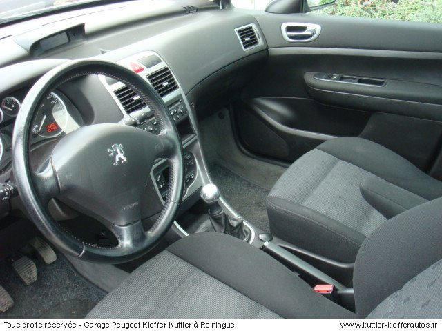 peugeot 307 sw hdi 110cv xs premium 2003 occasion auto peugeot 307. Black Bedroom Furniture Sets. Home Design Ideas