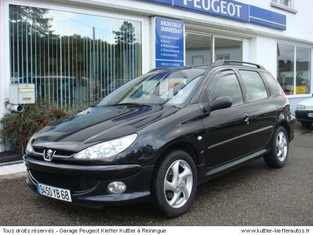 peugeot 206 sw xs premium 2l hdi 2003 occasion auto. Black Bedroom Furniture Sets. Home Design Ideas