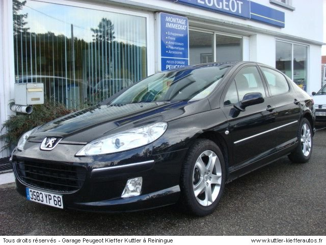 peugeot 407 hdi 136cv sport pack 2005 occasion auto peugeot 407. Black Bedroom Furniture Sets. Home Design Ideas