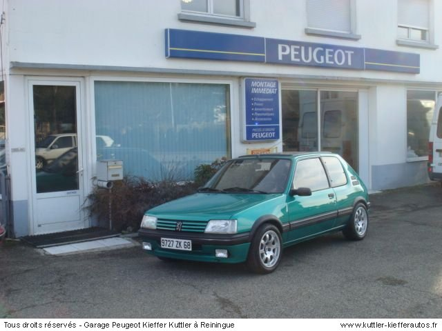 PEUGEOT 205 GTI GRIFFE 1990 - Voiture d'occasion