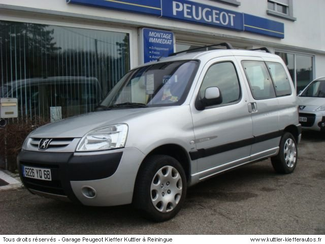 PEUGEOT PARTNER 2L HDI QUICKSILVER 2005 - Voiture d'occasion