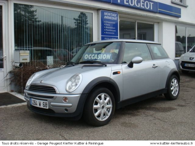 MINI ONE 90CV 2002 - Voiture d'occasion