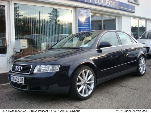 audi a4 tdi 130cv ambition luxe 2001 occasion auto audi a4. Black Bedroom Furniture Sets. Home Design Ideas
