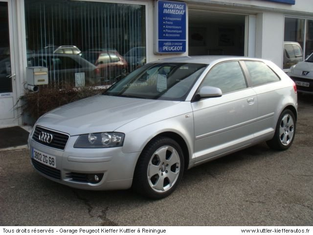 audi a3 2l tdi 140cv ambition luxe 2004 occasion auto. Black Bedroom Furniture Sets. Home Design Ideas