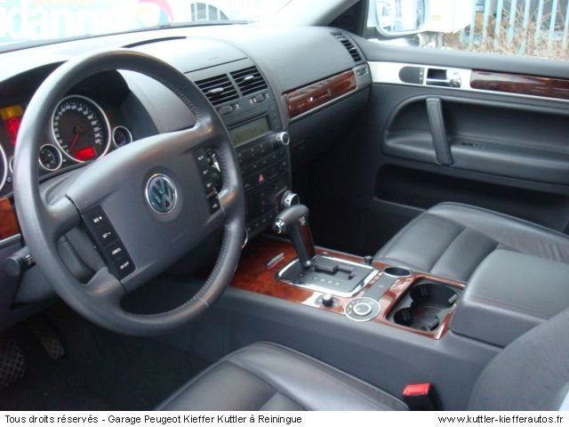 volkswagen touareg r5 tdi tiptronic 2005 occasion auto volkswagen touareg. Black Bedroom Furniture Sets. Home Design Ideas