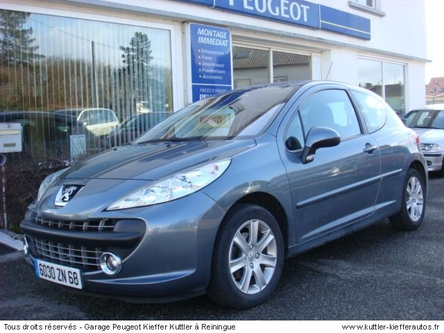 peugeot 207 sport pack hdi 110cv 2007 occasion auto peugeot 207. Black Bedroom Furniture Sets. Home Design Ideas