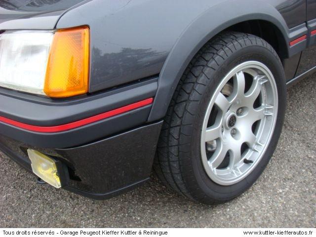 PEUGEOT 205 GTI 1,9L 130CV 1989 - Voiture d'occasion