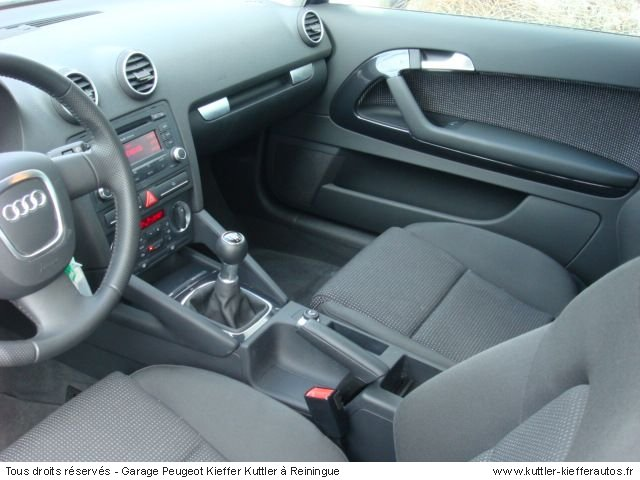 AUDI A3 TDI 105 CV BV6 2007 - Voiture d'occasion