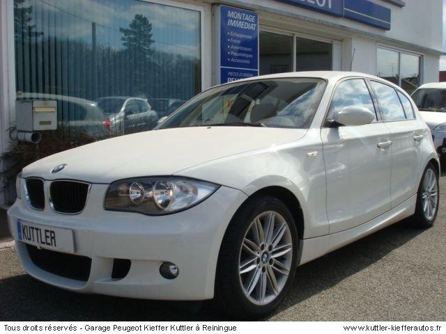 BMW 118 D PACK M 2007 - Voiture d'occasion