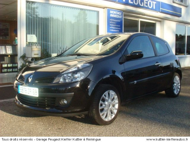 RENAULT CLIO 3 DCI 105CV EXEPTION 2006 - Voiture d'occasion