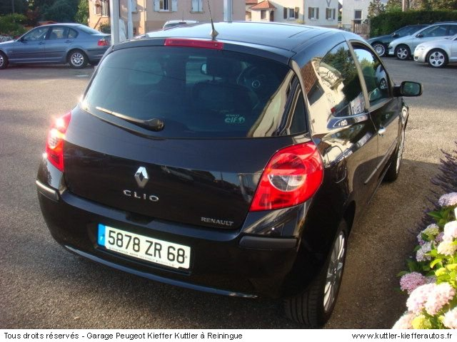 renault clio 3 dci 105cv exeption 2006 occasion auto renault clio. Black Bedroom Furniture Sets. Home Design Ideas
