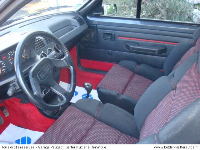 peugeot 205 gti cti 1990 occasion auto peugeot 205 gti. Black Bedroom Furniture Sets. Home Design Ideas