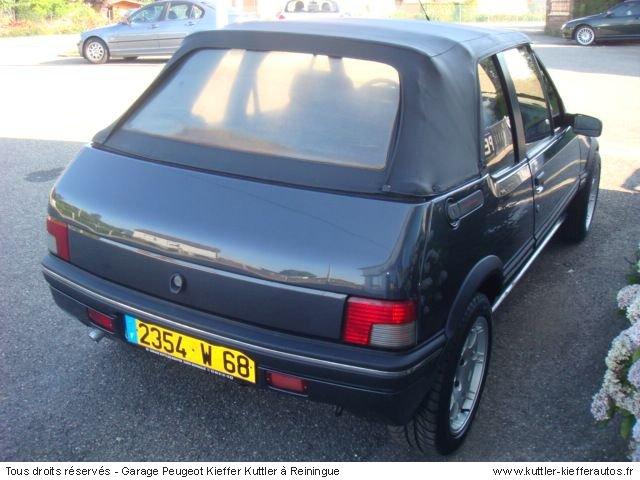 PEUGEOT 205 GTI CTI 1.9 L 105CV 1990 - Voiture d'occasion