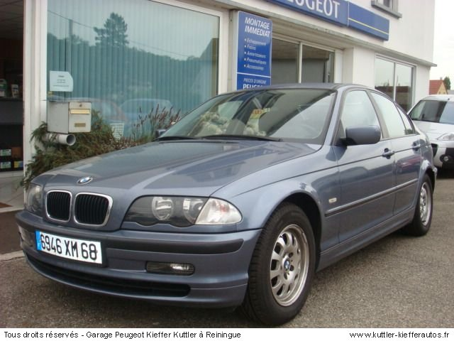 BMW 320 D PACK LUXE 136 CV 1999 - Voiture d'occasion