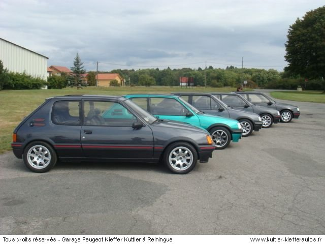PEUGEOT 205 GTI GTI / 309 GTI 2009 - Voiture d'occasion