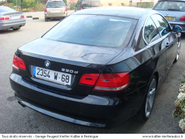 bmw 330 d coupe 2007 occasion auto bmw 330. Black Bedroom Furniture Sets. Home Design Ideas