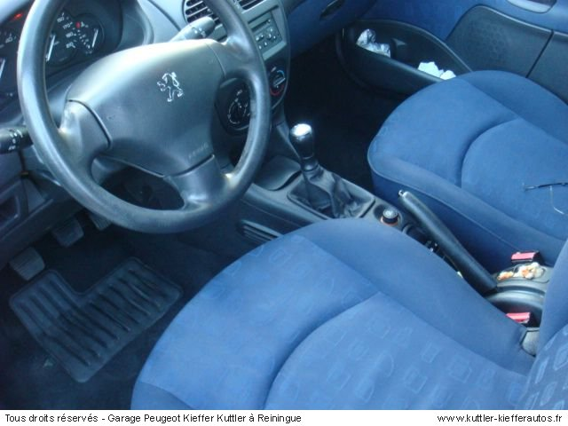 PEUGEOT 206 1.4 HDI  2 PLACES 2005 - Voiture d'occasion