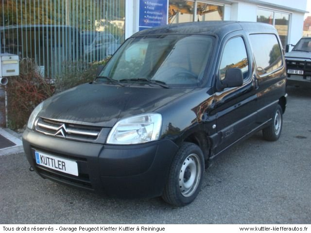 citroen berlingo 1 6l hdi 2005 occasion auto citroen. Black Bedroom Furniture Sets. Home Design Ideas
